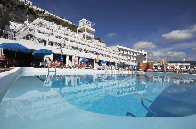 Hotel apartamentos rocamar puerto rico - Hoteles en puerto rico gran canaria ...